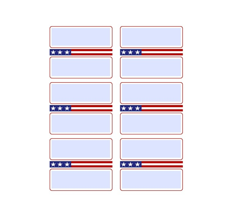 mailing label template 15