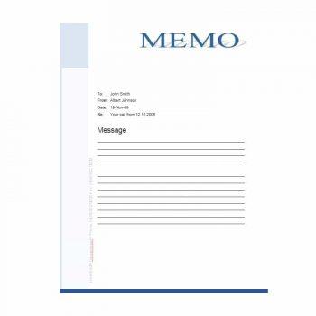 memo template 06