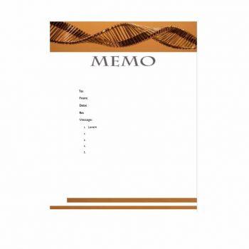 memo template 28