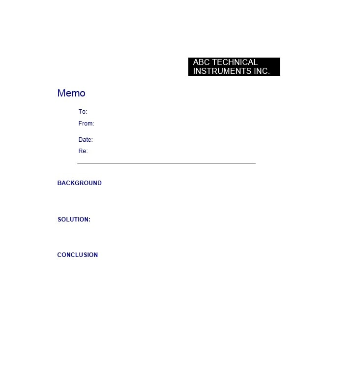 business memo templates 40 memo format samples in word