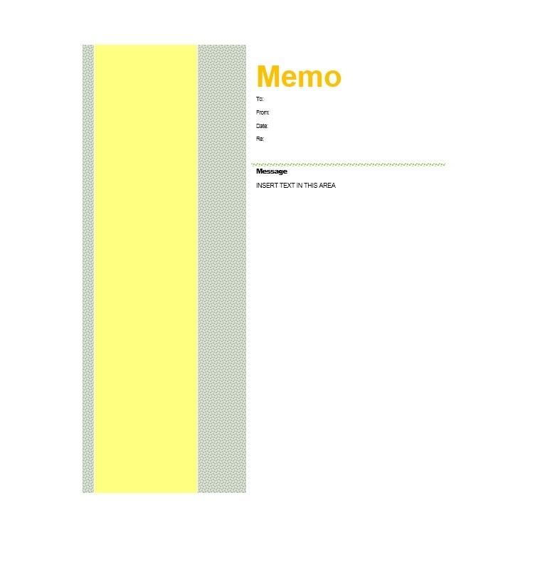 memo template 39