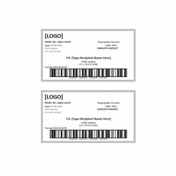 36 fantastic label templates address shipping mailing for Package address label template
