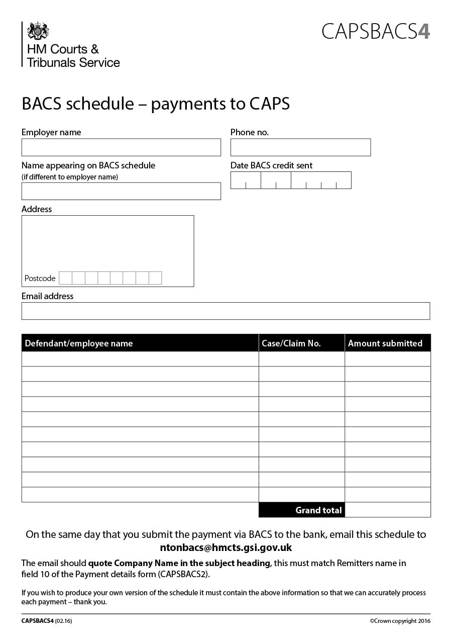 pay schedule template