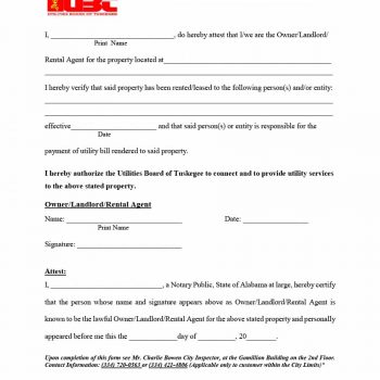 rental verification form 13