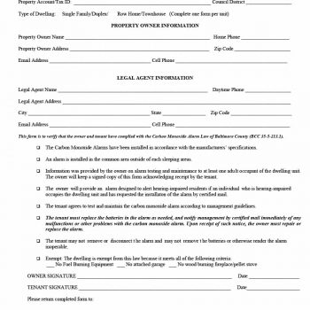 rental verification form 15