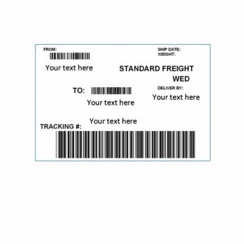 shipping label template 20