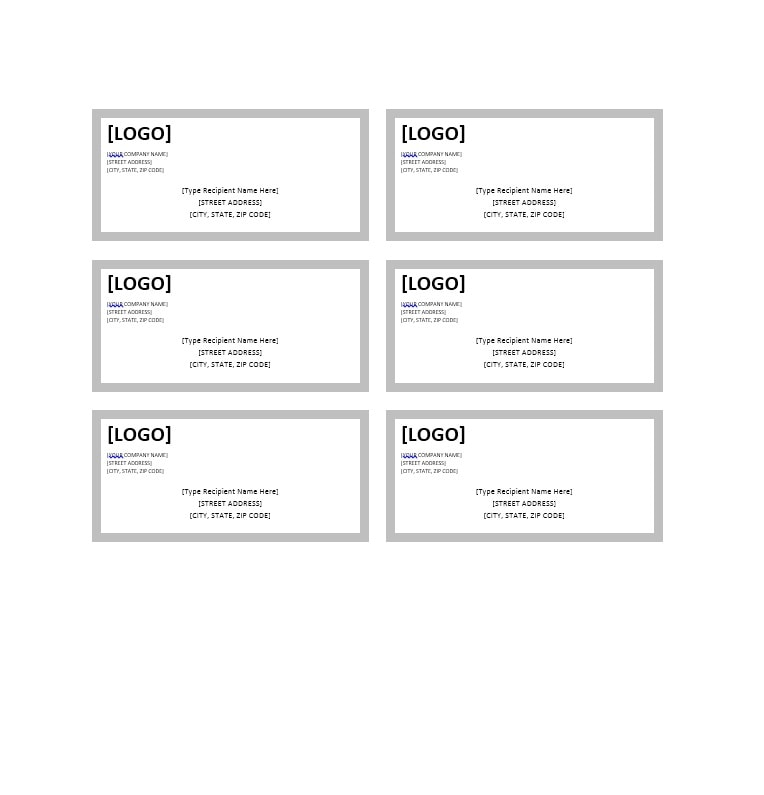 36 fantastic label templates address shipping mailing for Ebay shipping label template