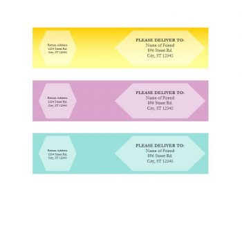 shipping label template 33