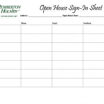 open house sign in sheet 03
