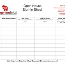 open house sign in sheet 14