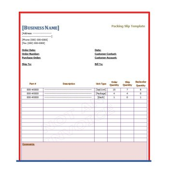 packing slip template 05