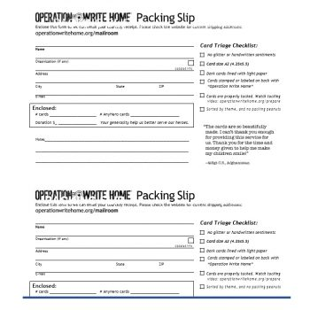 packing slip template 11