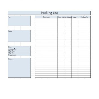 packing slip template 15