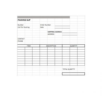 packing slip template 22
