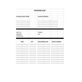 packing slip template 24