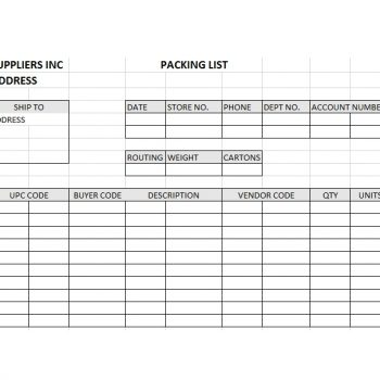 packing slip template 26