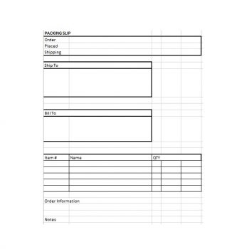 packing slip template 29