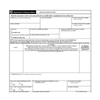 Employee Complaint Form Template 09