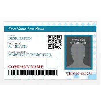 ID Card Template 02