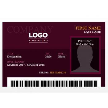 ID Card Template 03
