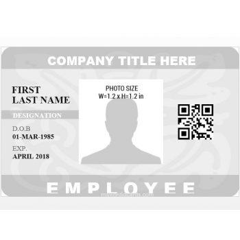 ID Card Template 07