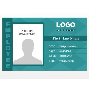 ID Card Template 08