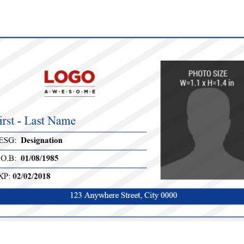 ID Card Template 10