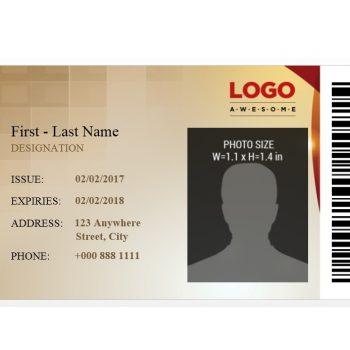 ID Card Template 11