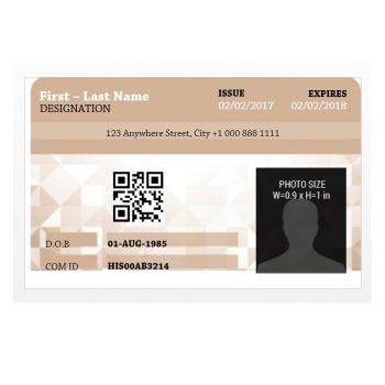 ID Card Template 13