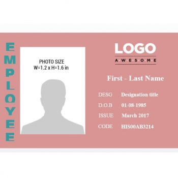 ID Card Template 14