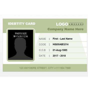 ID Card Template 15