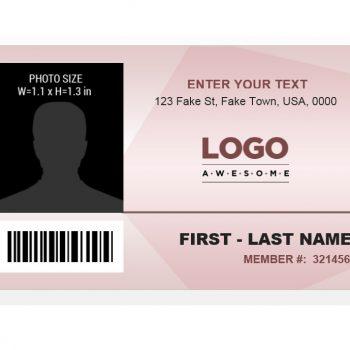 ID Card Template 16