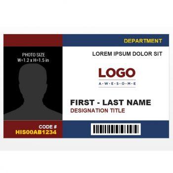 ID Card Template 17