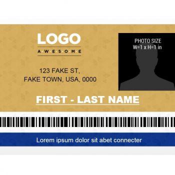 ID Card Template 18