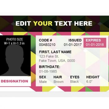 ID Card Template 19