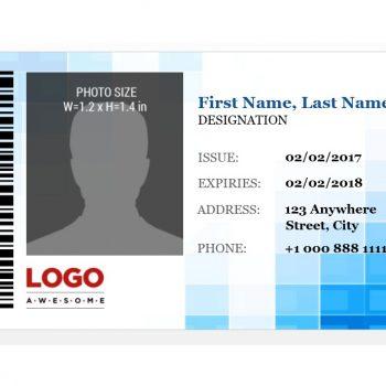 ID Card Template 20
