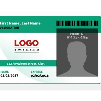ID Card Template 21