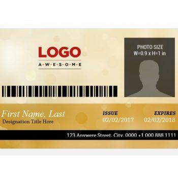 ID Card Template 22