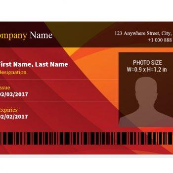 ID Card Template 23