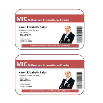 ID Card Template 24