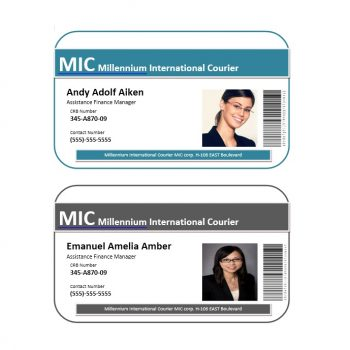 ID Card Template 25