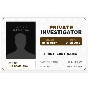 ID Card Template 28