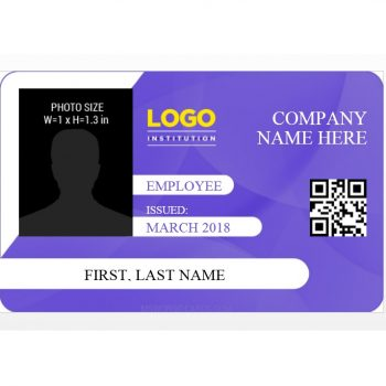 ID Card Template 30