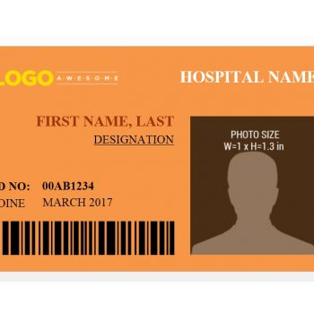 ID Card Template 31