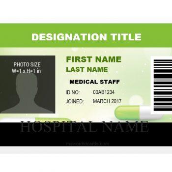 ID Card Template 32