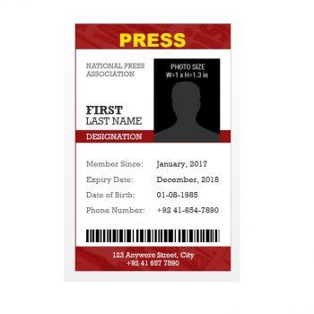 ID Card Template 34