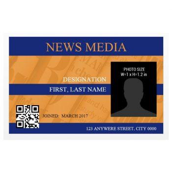 ID Card Template 35