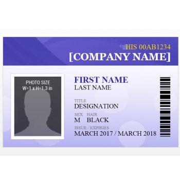ID Card Template 37