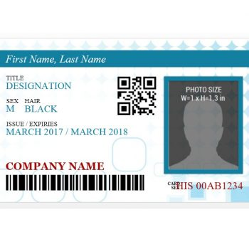 ID Card Template 38