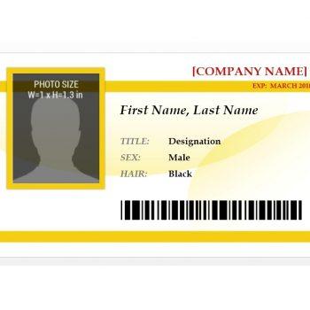 ID Card Template 39